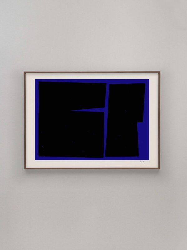 BLUE GEOMETRY 02, Carsten Beck
